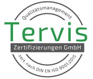 Wir sind TERVIS zertifiziert